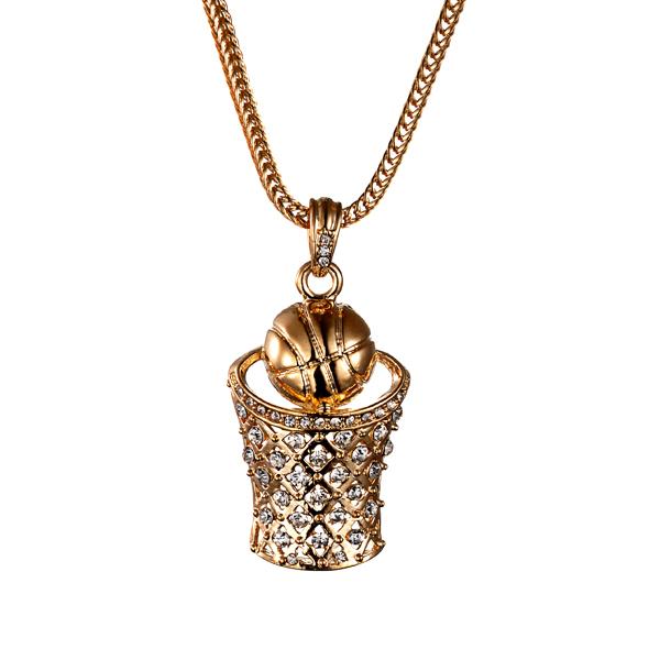 золотой кулончик иконка