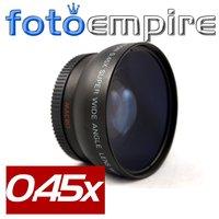52mm 0.45x Wide Angle Lens & Macro Conversion Lens 0.45x 52 for Nikon D3000 D3100 D3200 D7000 D90 D5000 D5100