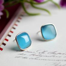 wholesale cat earrings silver