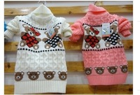 High collar TongQiu children sweater high collar men and women's children's wear