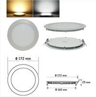 FREE SHIPPING 15W Dimmable CREE LED Recessed Ceiling Panel Down Lights Bulb