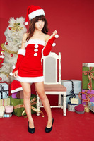 Christmas installation girls Christmas home costume halloween clothes party costumes