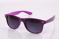 Fashion popular metal material thin legs small round box women's sunglass  sunglasses