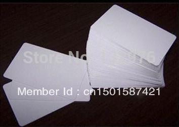 Blank rfid card,Blank pvc cards,Blank plastic cards, Printed pvc cards(China (Mainland))