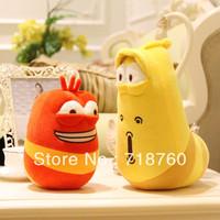 Funny caterpillar plush doll plush toy doll doll creative birthday gift free shipping
