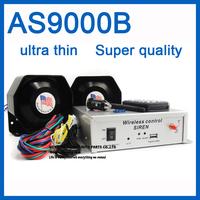 AS9000B Security systems car electronic siren 400W ultra thin horn speaker police car siren alarm ambulance siren