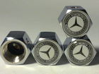 Free Shipping(Wholesale) MERCEDES BENZ Anti-theft Car Wheel Tire Valve Stem Caps(MS)(China (Mainland))