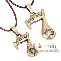 Retro Fashion 2013 Antique Bronze Snake Chain Necklace Forever NO 7 Star of David Cute Pendant Couple Necklace for Lovers
