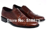 FREE SHIPPING! Large Size! 2013 new men oxfords shoes men dress shoes genuine leather shoes business shoes, size:38-47 hot sale