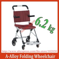 +++Brand New ,Japanese Style Aluminum Alloy lightweight folding travelling wheelchair,airplane used 6.2Kg  N.W