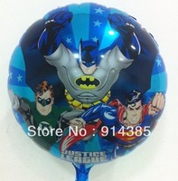 Free shipping  wholesale 50pcs/lot 18 inch foil helium balloons batman cartoon balloon ,party supplies