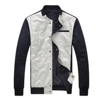 2013 men's winter clothing jacket three-color personality stand collar outerwear jacket 00012