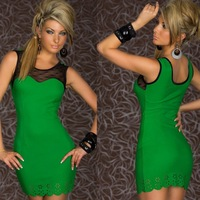 Free Shipping Sexy Clubwear Clothing Dress, Party Costumes, Hot Cocktail Dress, Mini Dress With G-string-A0335