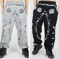 Casual male street cashew harem pants Wizkidayo KTZ hip-hop trousers Wei