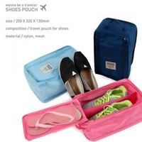 Wholesale 100pcs/lot Korean Monopoly Travel Shoes Boxes Waterproof Shoe Bag Shoe Box Shoe Pouch
