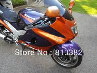 Motorcycle Fairing kit for KAWASAKI Ninja ZZR1100 ZZR 1100 1993 2001 2003 ZX-11 ZZR1100D 93 01 02 03 orange blue Fairings KP11