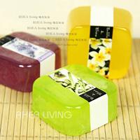 Square natural handmade soap bath soap cold soap