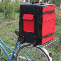 Heat insulated food delivery box for bicycle,food take-out box for bike,food take-away box for motorcycle,Thermal insulation box