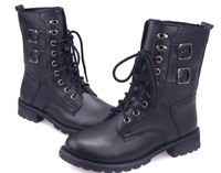 2013 top grade fashion martin platform boots for women shoes woman chunky high heels pumps punk ankle booties lace-up