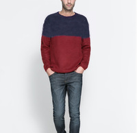Soda perfect wool male o-neck pullover sweater thickening sweater