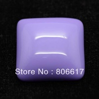Free Shipping 10 Pcs Purple Resin Square Flatback Cabochon Scrapbook Embellishment DIY Phone Decoration 27x27mm(W02593)