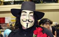 Halloween Mask theme mask V for Vendetta Mask V- mask Free shipping