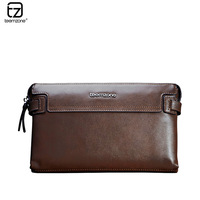 Teemzone male day clutch commercial male clutch first layer of cowhide man bag large capacity