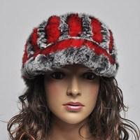 13 visor quality rex rabbit hair hat tennis ball cap short brim hat baseball cap