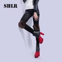 2013 second generation winter women's faux fashion kneepad windproof cuish ride flanchard