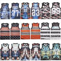 free shipping men/women Gradient Star jersey vest trend Cotton Tanks Tops M/L/XL