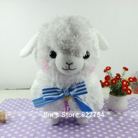Free shipping! Amuse camelid arpakasso navy plush doll toy 4