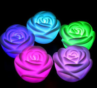 Colorful small eye-lantern luminous gift hot-selling novelty products colorful rose led lighting