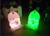 Zodiac chicken colorful small night light led electronic night light decoration lamp light-up toy