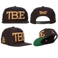 TMT hat cap TBE  The Money Team, The Best Ever , Damn Life Is Good ,The Team Money  BIG BOY CURRENCIES  caps Snapback Hats