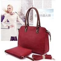 2014 fashion New leather  Handbags Designer Brand Women Genuine Leather Bag  Women Composite Package Messenger  Bags