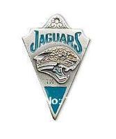 Free shipping! 20pcs/lot,  anti-silver single-sided Jacksonville Jaguars pendant  for  gift.