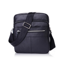 2013 New Arrival Aeropostale 100% Genuine Leather Cowhide Simple Design Men's Messenger Shoulder Bag , High Quality Bag For Man