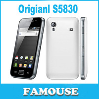 Free Shipping 100% Original S5830 mobile  phone unlocked S5830i mobile phone Android 5MP WIFI GPS