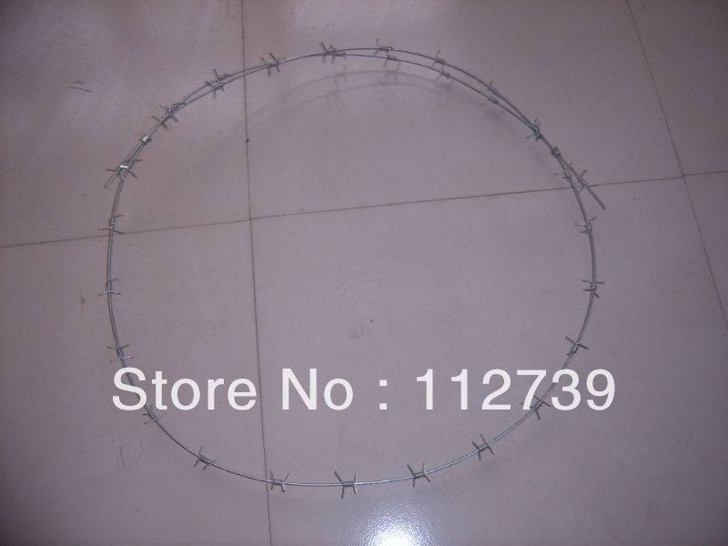 Anping Professional Barbed Wire Manufacturer, Each Coil Weight 12-25kg, Low Carbon Steel Material(China (Mainland))
