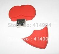 wholesale 5pcs/lot genuine capacity wedding usb flash drives, heart pen driver card pen drive usb stick pen driver 32gb