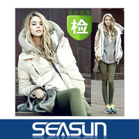 Free shipping 2013 new fashion winter women's warm down jacket parkas with a hood thick outerwear coats