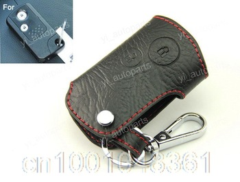 Leather Remote Case Smart Key Holder Cover Fit For Honda ACCORD 08-09 CRV Odyssey 2B 2 Button