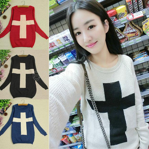 Женский пуловер Unbranded Q415 4