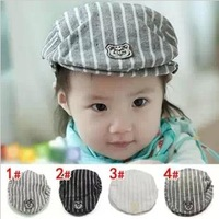 Baby lovely cap child fedoras baby duck hat cap 1 - 3 years old beret cap detective