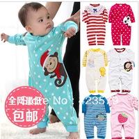 Male autumn clothing bodysuit newborn supplies autumn and winter romper 0-1 year old romper autumn