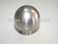 12pcs lot free shipping modern orbicular stainless steel cabinet knob\furniture knob\drawer knob