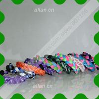 hot selling DHL 200pcs/lot 3 rope braided bracelet ,handmade bracelets,sports titanium bracelet