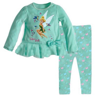 New design children clothing sets  kids pajamas 100% cotton 6sets/lot