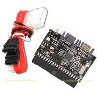 Hot popular 2 in 1 IDE to SATA SATA to IDE Converter Adapter ATA 100 133  #QbO