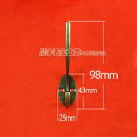 Double hook/coat/metal hook clasps/key/hang bag hook to restore ancient ways do old coat hanger